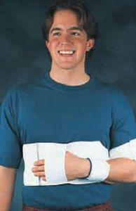Shoulder splint (orthopedic immobilization) / with attachment strap Bicro™ Bird & Cronin