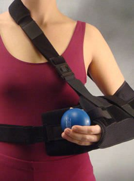 Arm sling with shoulder abduction pillow / human B-Cool® Bird & Cronin