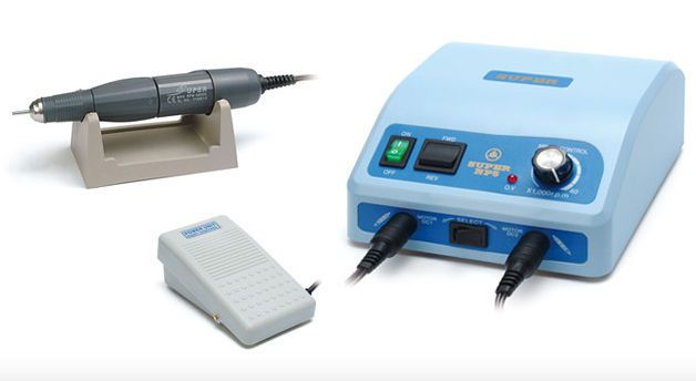 Dental laboratory micromotor control unit / pedal-operated / complete set / with handpiece NP5(S) + NH1 Daeyoung Precision