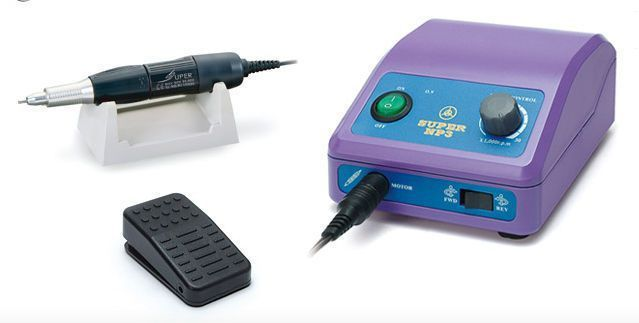 Dental laboratory micromotor control unit / pedal-operated / with handpiece / complete set NP3(S) + NH2C Daeyoung Precision