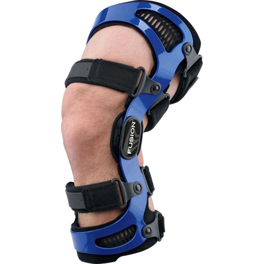 Knee orthosis (orthopedic immobilization) / knee ligaments stabilisation / articulated Fusion Breg