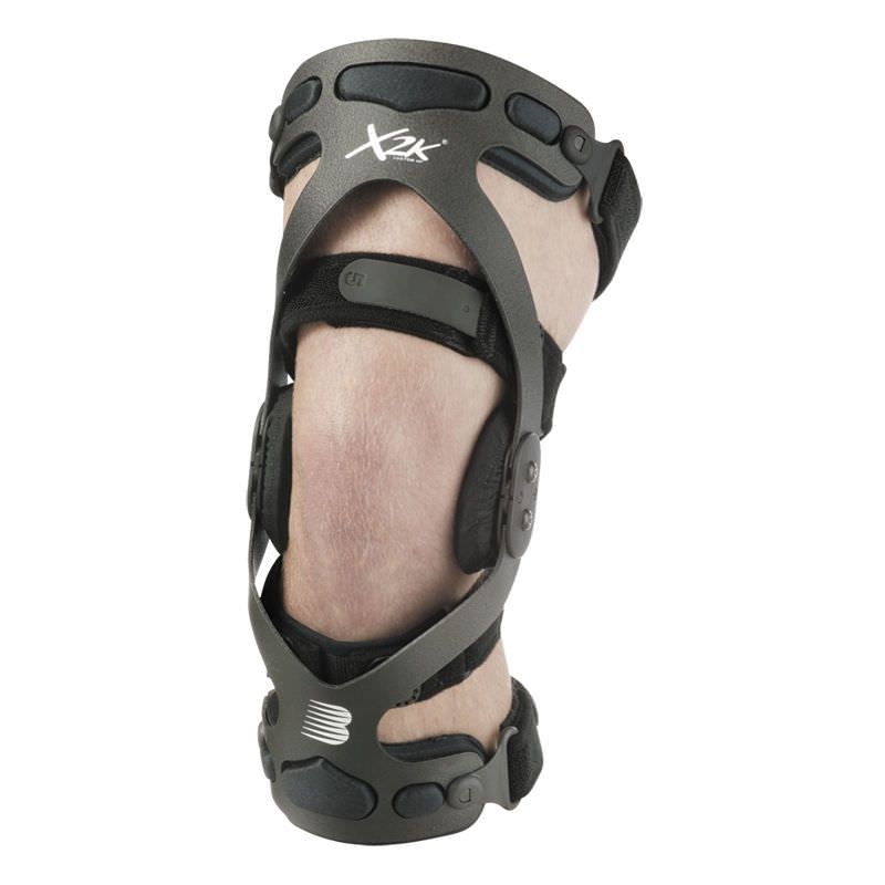 Knee orthosis (orthopedic immobilization) / knee ligaments stabilisation / articulated X2K High Performance Breg