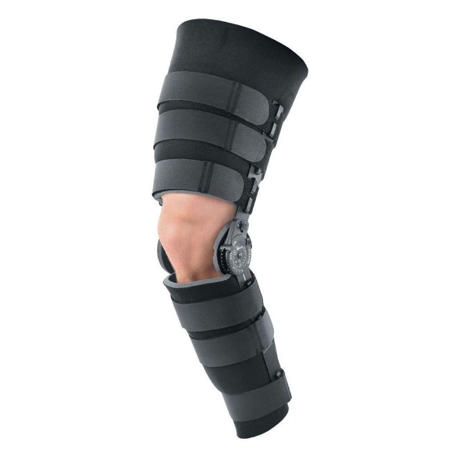 Knee splint (orthopedic immobilization) / articulated Post-Op Breg