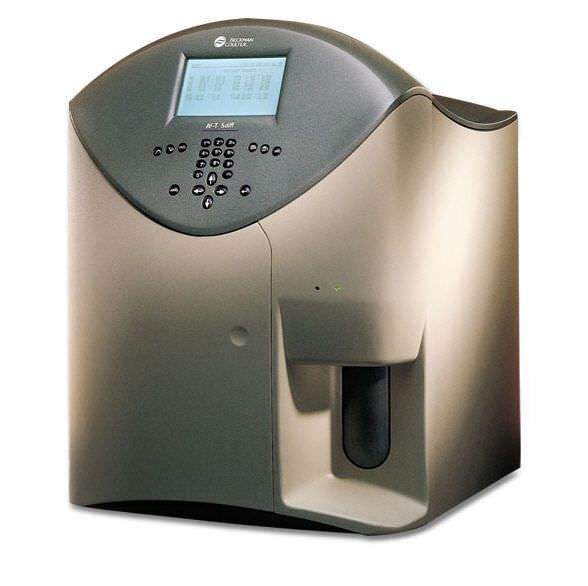 Automatic hematology analyzer / leukocyte distribution COULTER® Ac·T™ 5diff OV Beckman Coulter International S.A.