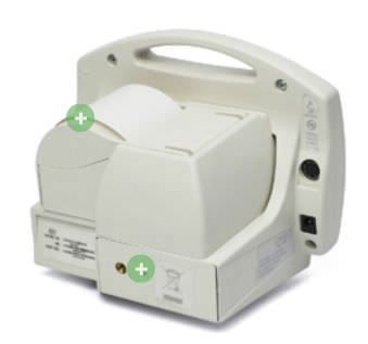 Pulse oximeter with separate sensor / table-top 0 - 99 % SpO2 | 504DX Criticare Systems