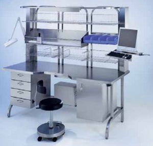 Packaging table / for central sterilization units / stainless steel BLANCO CS GmbH + Co KG