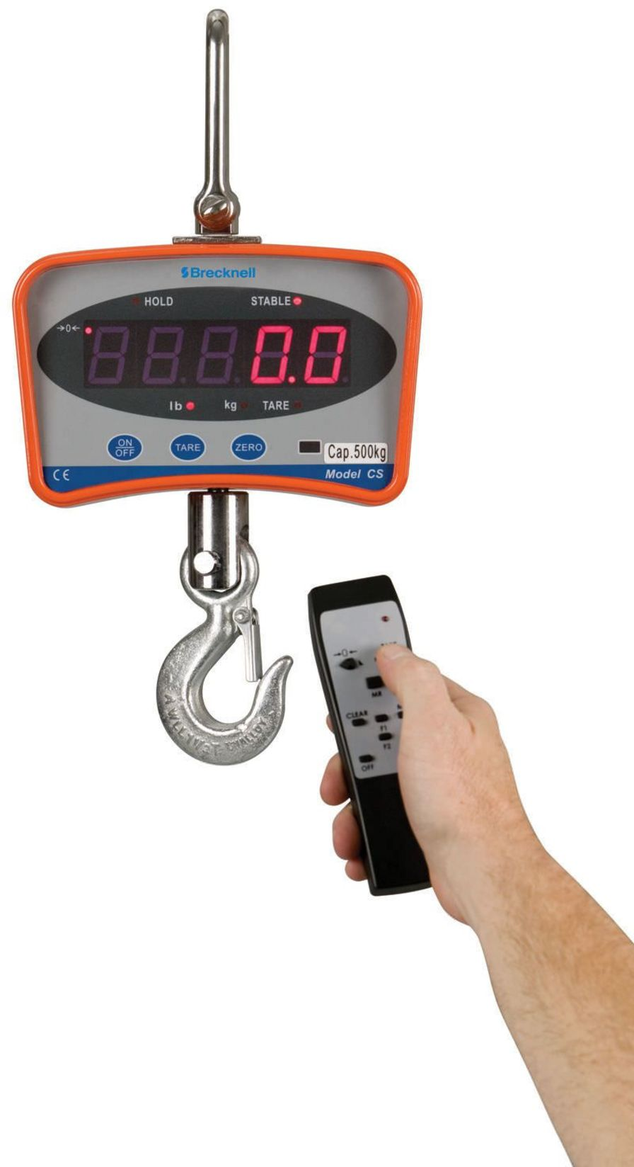 Electronic balance / hanging CS series Brecknell