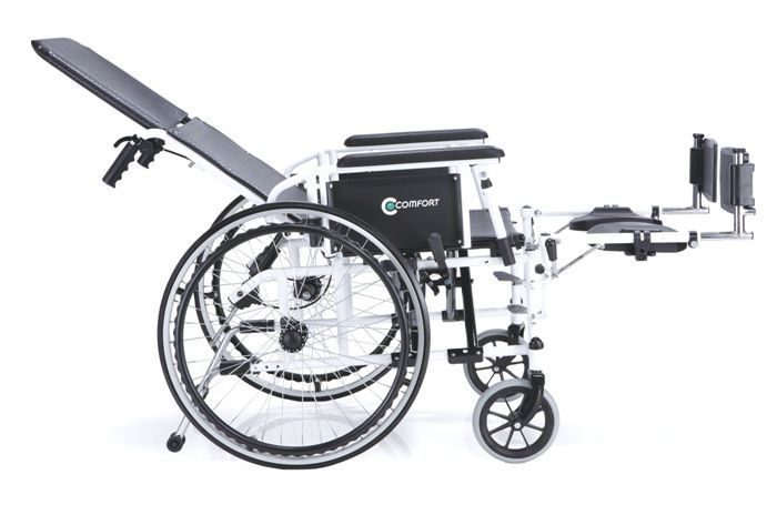 Passive wheelchair / reclining / with legrest K9-Recliner Comfort orthopedic