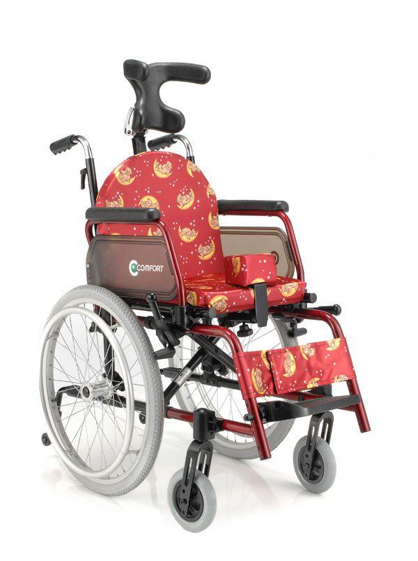 Passive wheelchair / folding / with headrest / with legrest SL-7100C-AE Comfort orthopedic