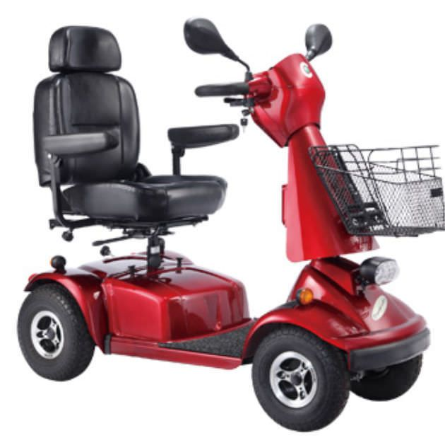 4-wheel electric scooter LY-EW402G Comfort orthopedic