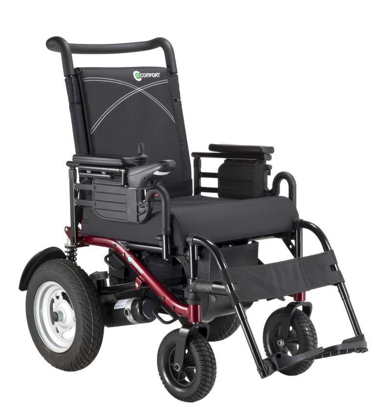 Electric wheelchair / interior / exterior CONQUEROR-LY-EB206RS1 Comfort orthopedic