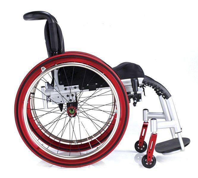 Active wheelchair / with legrest SL-5000-Cwheels Comfort orthopedic