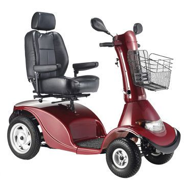 4-wheel electric scooter LY-EW415RS Comfort orthopedic