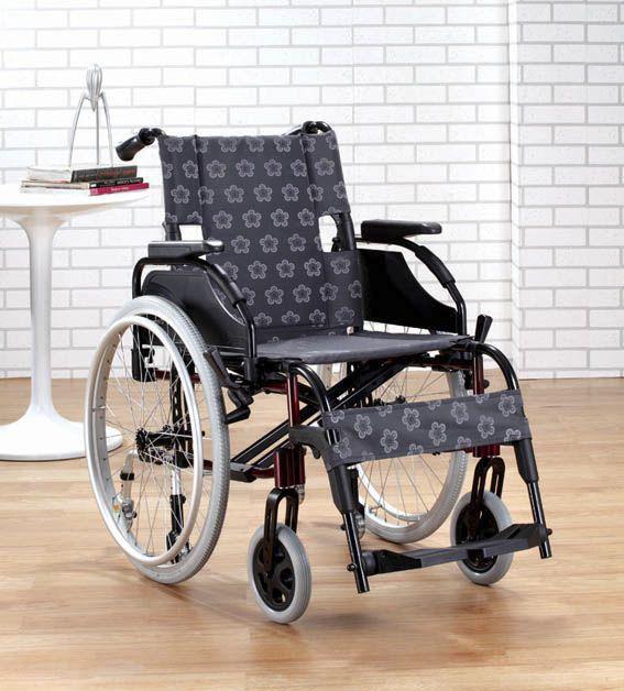Passive wheelchair / folding / height-adjustable / with legrest EVOLUTION Comfort orthopedic
