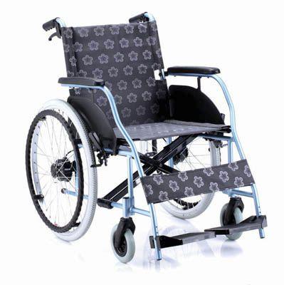 Passive wheelchair / folding / with legrest BASIC Comfort orthopedic