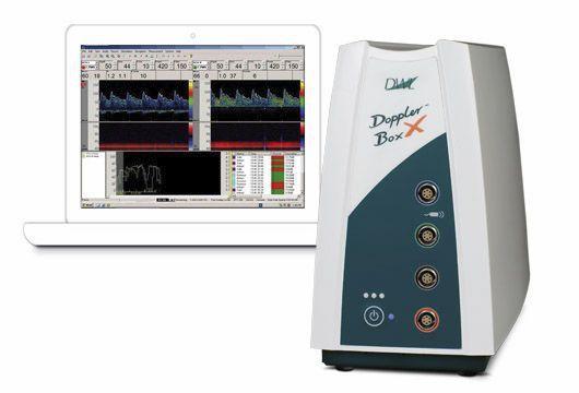Transcranial doppler / vascular / extracranial / portable Doppler-Box™ X Compumedics DWL