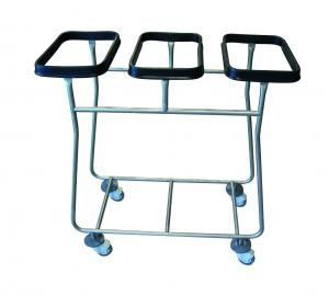Dirty linen trolley / 3-bag R3 Centro Forniture Sanitarie