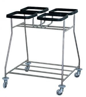 Dirty linen trolley / 4-bag R4 Centro Forniture Sanitarie