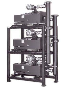Medical vacuum system / rotary claw / oil-free 400 - 900 m³/h   Mink MP 0400 - 0960 AV Busch France