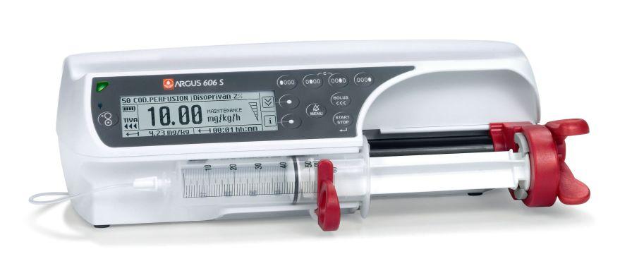 1 channel syringe pump A606 S Codan Argus