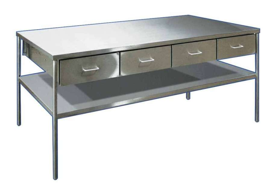 Stainless steel instrument table ITS-5000 BRYTON CORPORATION