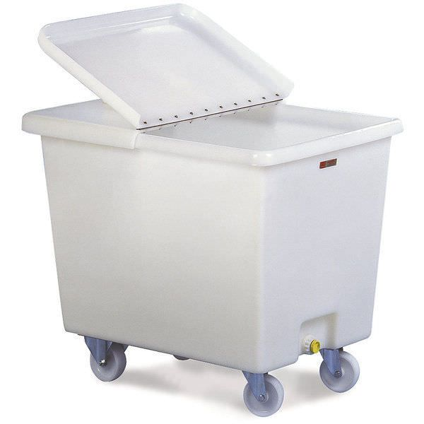 Linen trolley / with large compartment 44652850 Caddie