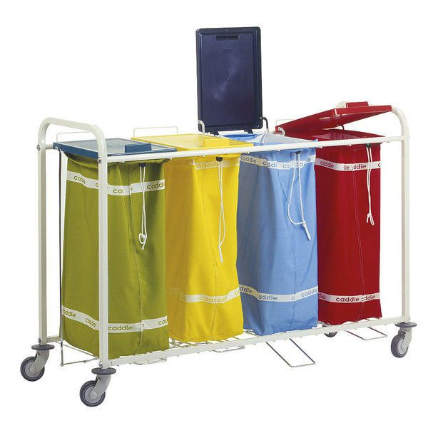 Dirty linen trolley / 4-bag 22712550 Caddie