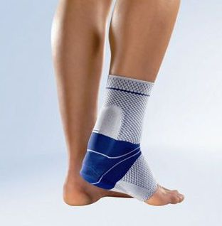 Ankle sleeve (orthopedic immobilization) / with para-achilles pad AchilloTrain® Bauerfeind