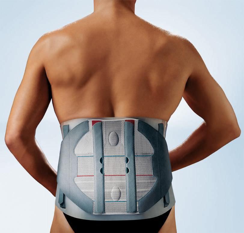 Lumbar support belt / with reinforcements SofTec® Lumbo Bauerfeind
