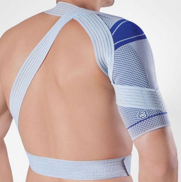 Shoulder orthosis (orthopedic immobilization) / flexible OmoTrain® Bauerfeind