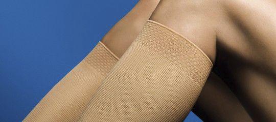 Socks (orthopedic clothing) / compression / unisex VenoTrain® delight Bauerfeind