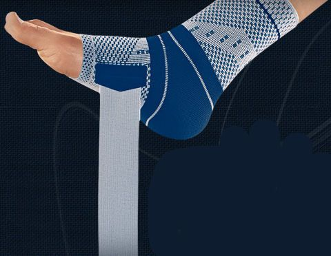 Ankle strap (orthopedic immobilization) / ankle sleeve MalleoTrain® S Bauerfeind