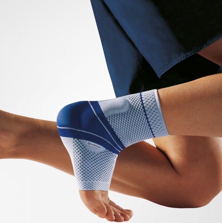 Ankle sleeve (orthopedic immobilization) / with malleolar pad MalleoTrain® Bauerfeind