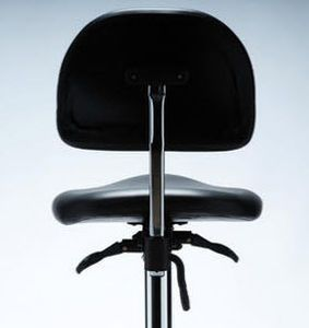 Medical stool / on casters / height-adjustable / with backrest BALANCE brumaba GmbH