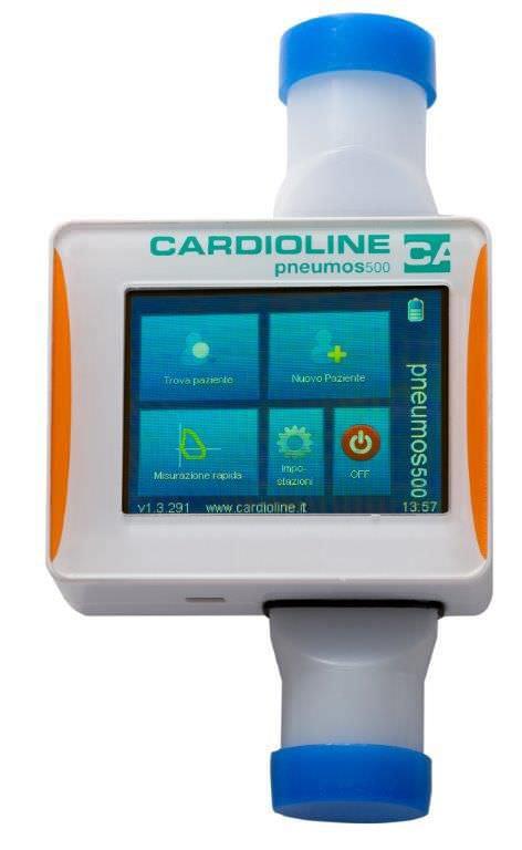 Hand-held spirometer / USB pneumos500 Cardioline