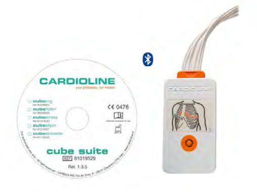 Patient data management software / ECG cubeecg package HD+ Cardioline