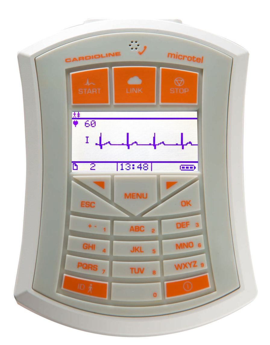Wireless electrocardiograph / computer-based / digital / 12-channel microtel Cardioline
