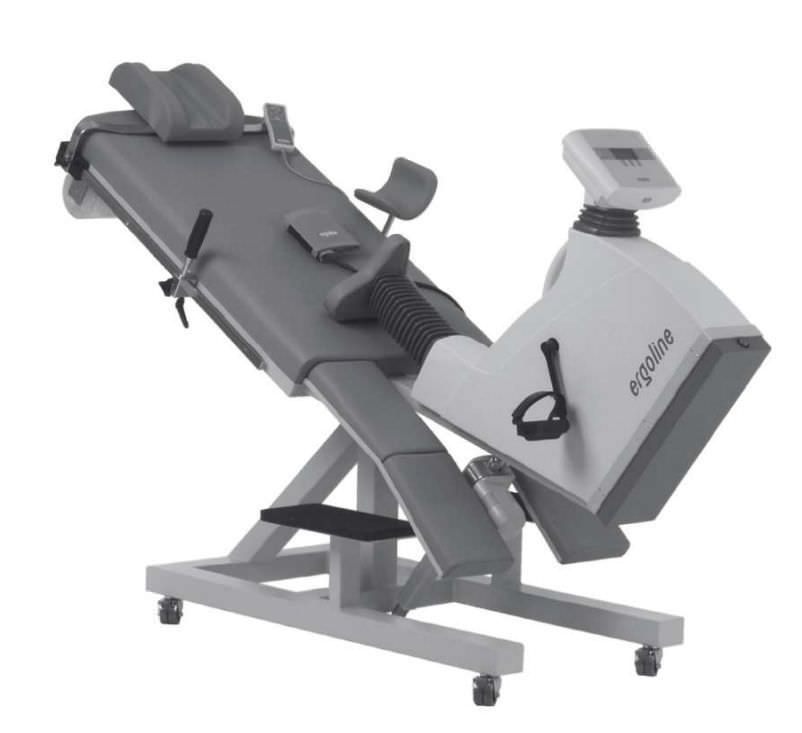 Semi-recumbent ergometer exercise bike 30 -130 rpm   ergoselect 1000 Cardioline