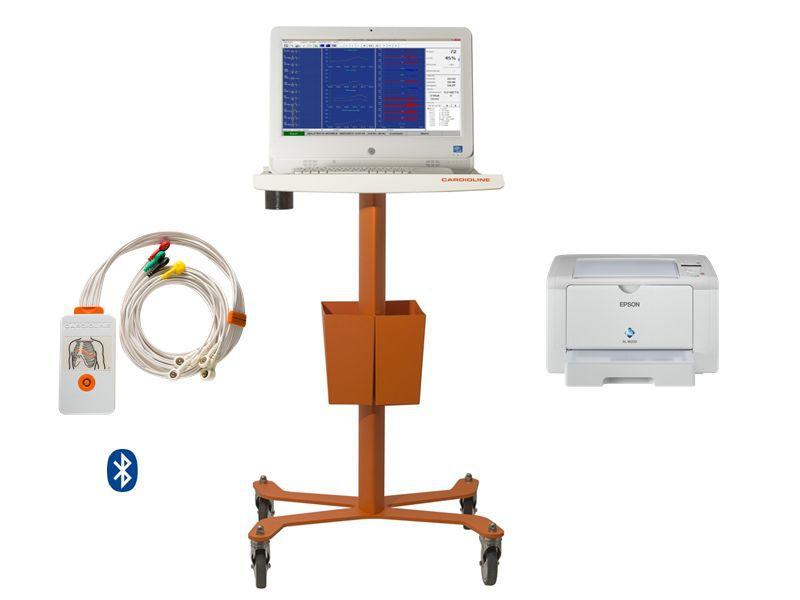 Patient data management system / stress test ECG cubestresslite Cardioline