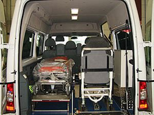 Transport medical ambulance / van Ford Tourneo Connect, Ford Transit C. Miesen