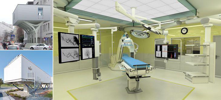 Operating room / modular / hybrid Cadolto Fertiggebäude