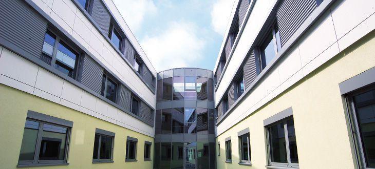 Modular office / for healthcare facilities Cadolto Fertiggebäude
