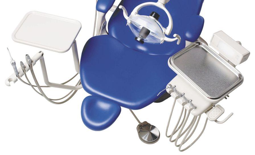 Dental treatment unit with hydraulic chair Performer III 8000 A-dec