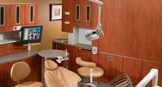 Medical cabinet / dentist office / with sink Central Console A-dec