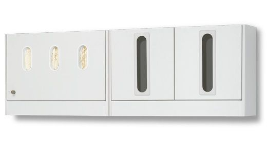 Medical cabinet / dental instrument / for healthcare facilities / wall-mounted A-dec