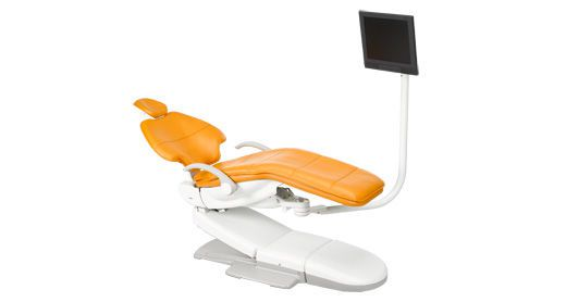 Dental monitor support arm A-dec Chairside A-dec