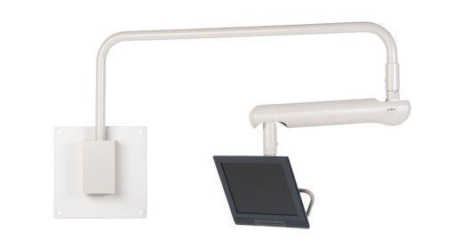 Dental monitor support arm A-dec Overhead A-dec