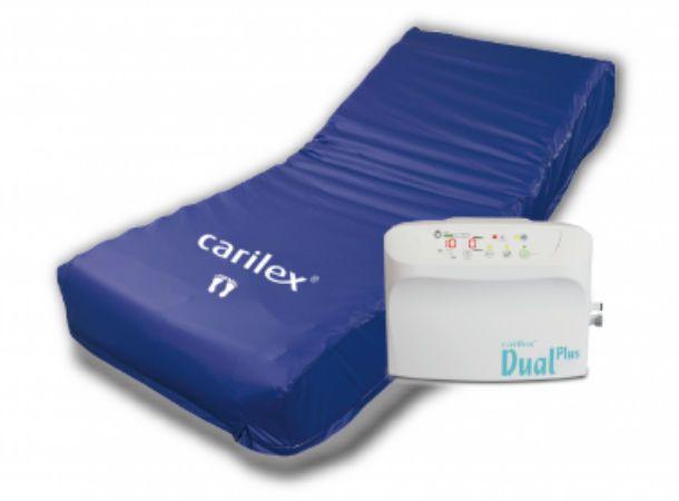 Anti-decubitus mattress / for hospital beds / multi-mode / tube DualPlus Carilex