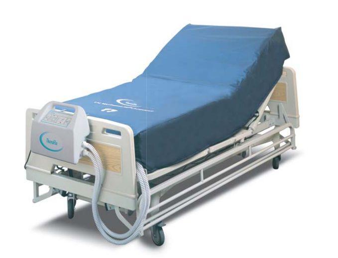 Hospital bed mattress / anti-decubitus / dynamic air / tube 450 kg | TheraFlo® Carilex