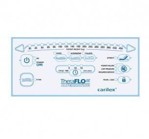 Hospital bed mattress / anti-decubitus / dynamic air / tube 450 kg | TheraFlo® AP Carilex